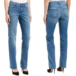 BNWT NYDJ Marilyn Straight Leg Jean in Jet Stream